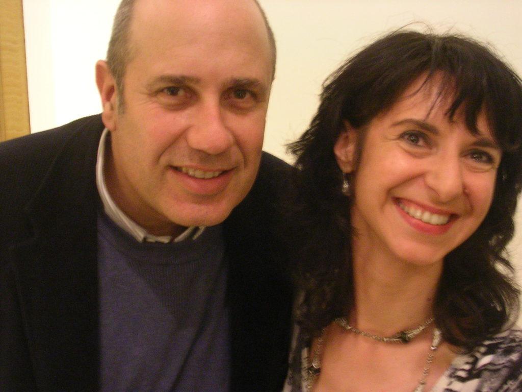 Federico Moccia e Lucia Tilde Ingrosso