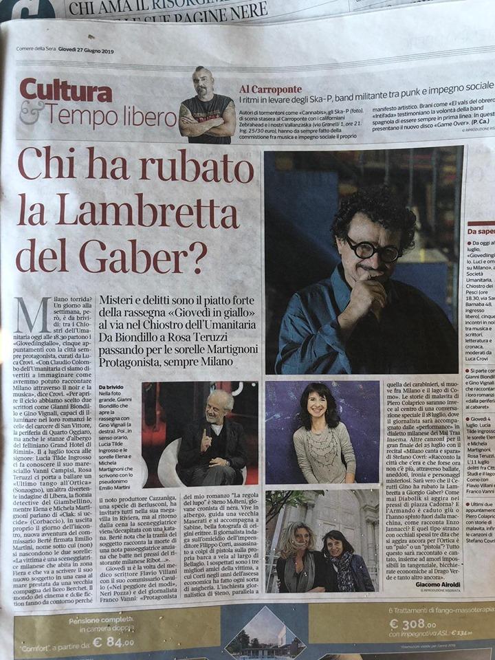 gialliste a Milano