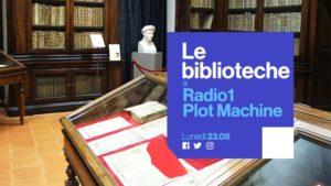 Radio 1 plot machine biblioteche lucia ingrosso