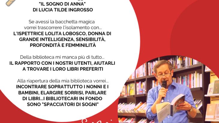 Il sogno di Anna in biblioteca