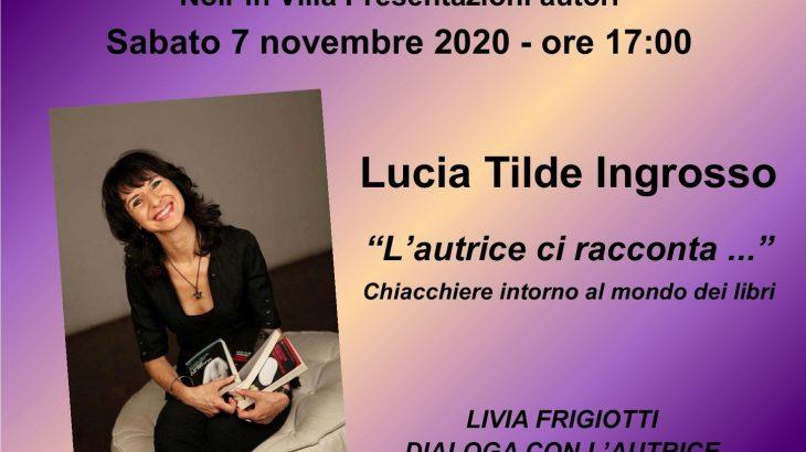 Noir in Villa, presentazioni online
